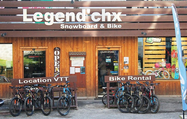legend chx chamonix france snowboard and bike rental