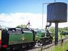 34053 at Highley