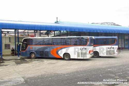 Link - Mina El Teniente - Marcopolo Andare Class y Marcopolo Viaggio 1050 (YS8132) (FBKG67)