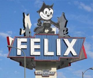 Felix Chevrolet, Neon Sign