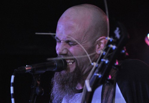 Nick Oliveri at Voodoo, Belfast 14 July 2014