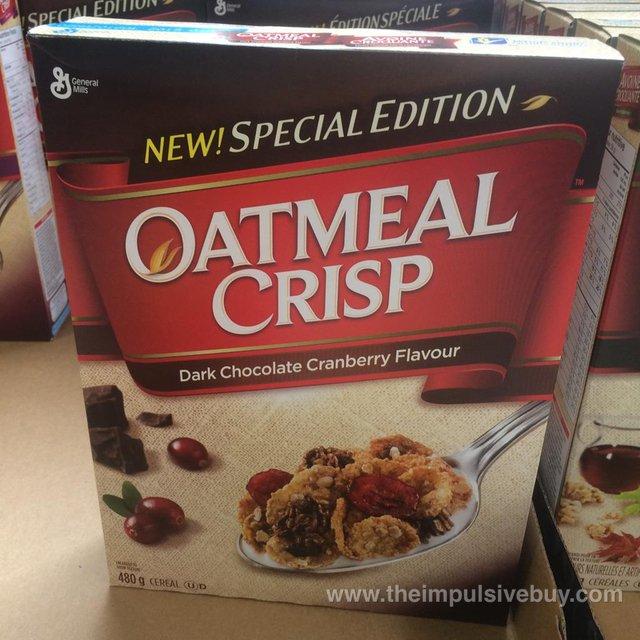 Oatmeal Crisp Dark Chocolate Cranberry Cereal