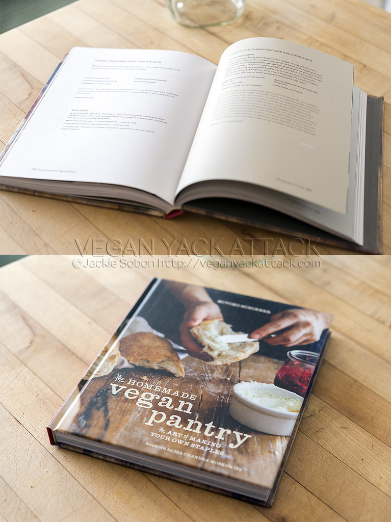 Vegan Classic Pancake & Biscuit Mix - Miyoko Schinner's Homemade Vegan Pantry