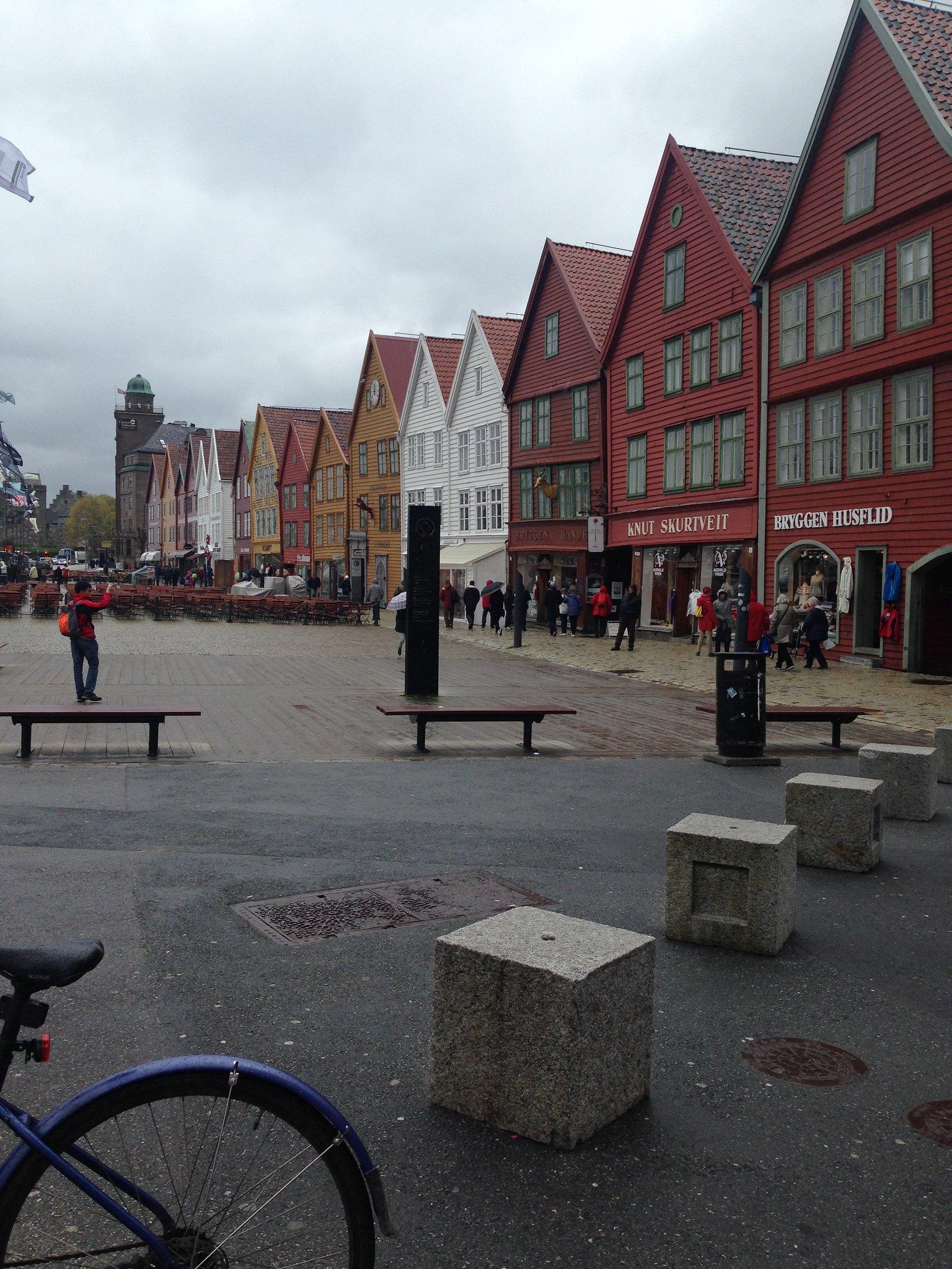 Bergen (from the Little Scandinavian Diary)