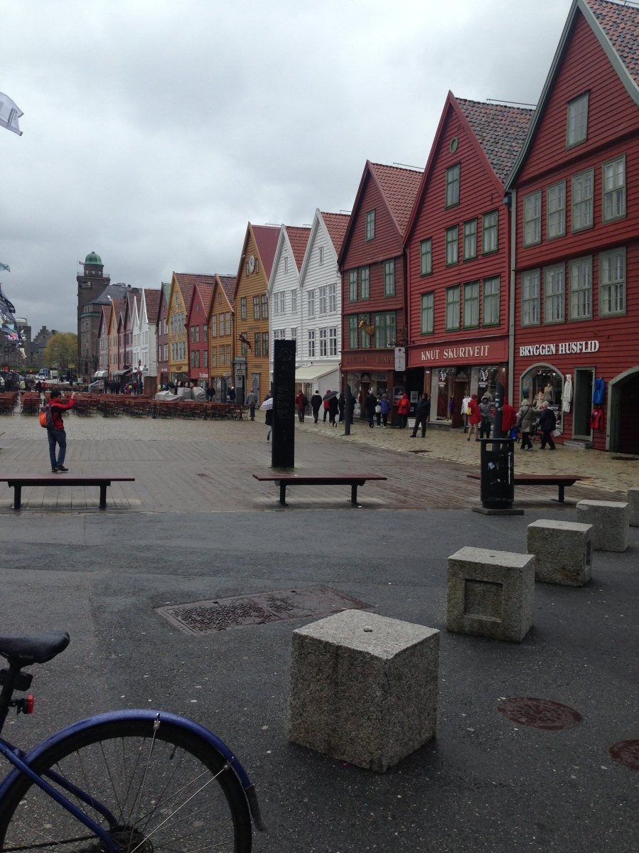 Bergen (from the Little Scandinavian Diary)