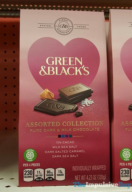 Green & Black's Assorted Collection Pure Dark & Milk Chocolate