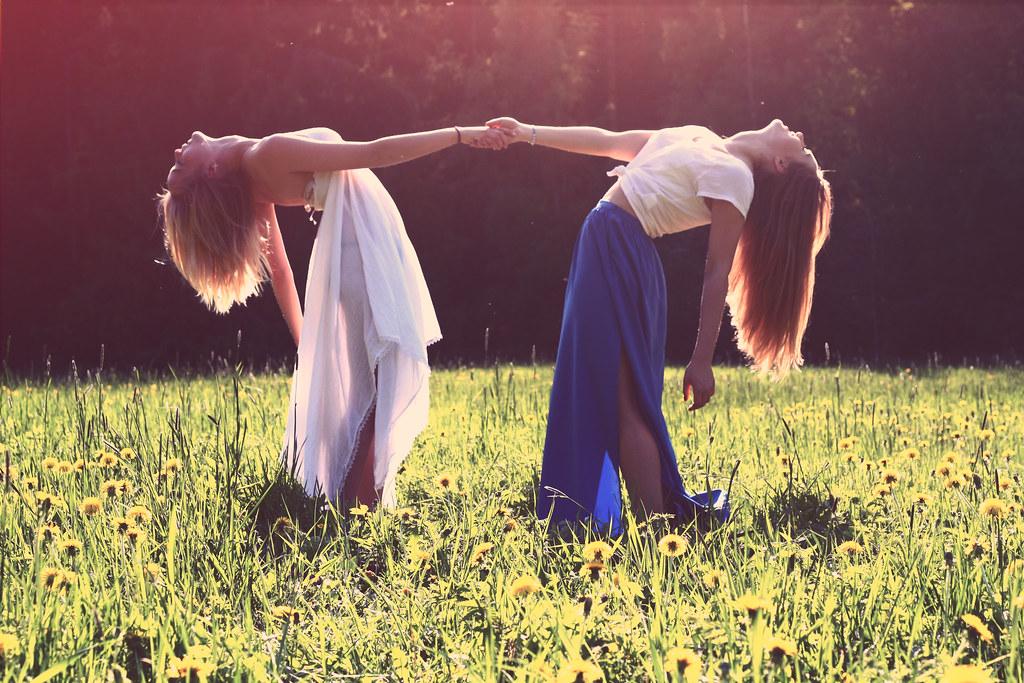 Imagen gratis de chicas en el campo