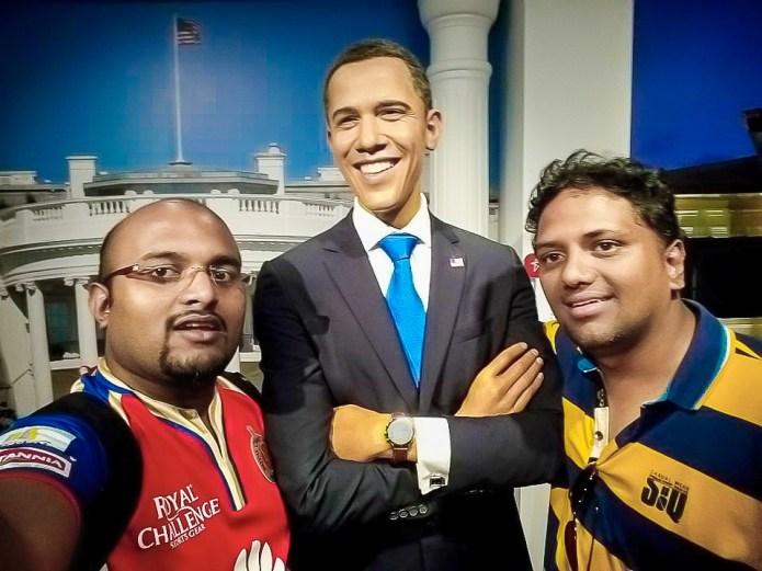 Barrack Obama Wax Statue