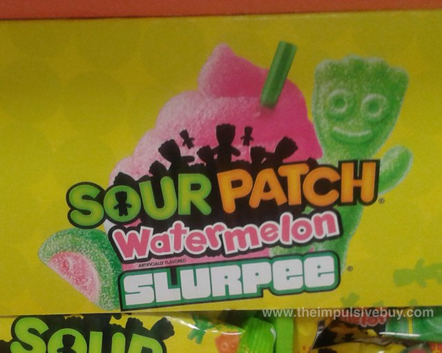 7-Eleven Sour Patch Watermelon Slurpee