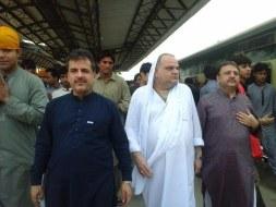 Welcome Sain Sadhram Sahib at Pooj Raherki Sahib (11)