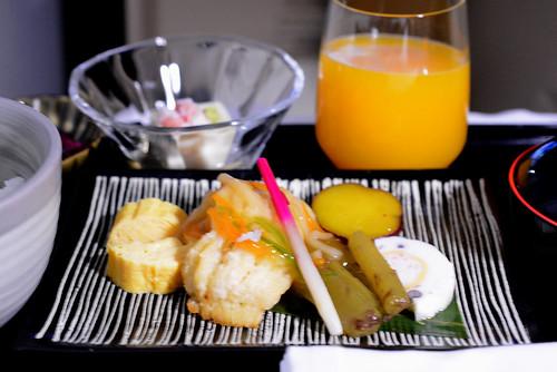 機内食朝1