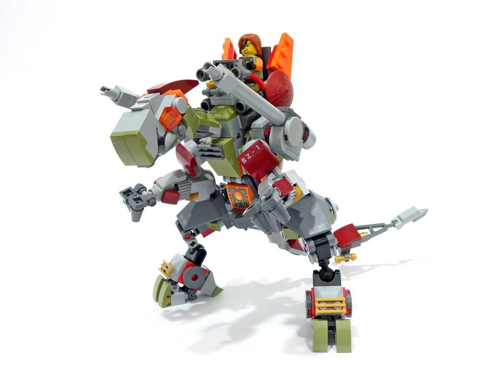Ronin mecha rex01