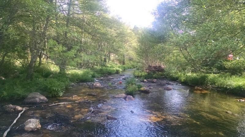 Río Acebo, sierra de Gata