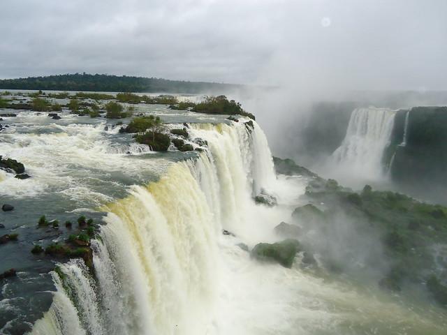 Cataratas de Iguazú, lado brasileño