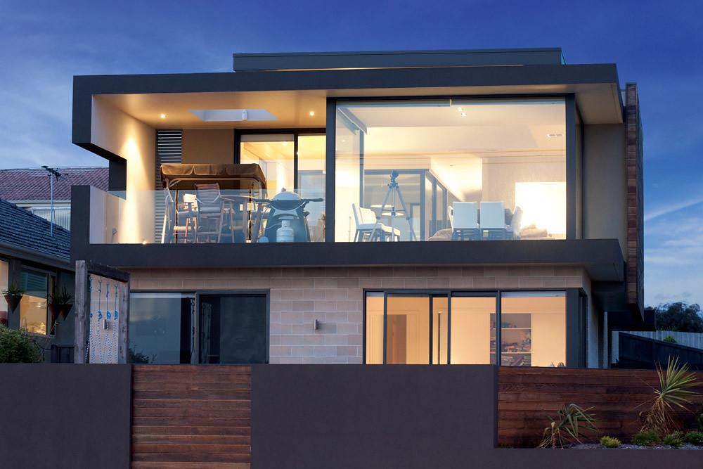 Beach Road House Masonry Blocks Designplace