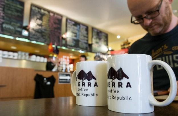 Sierra Coffee, Bishkek, Kyrgyzstan