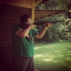 I took a turn on the range....