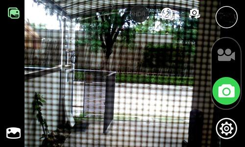 User Interface กล้องของ Cherry Mobile Flare Lite Quad