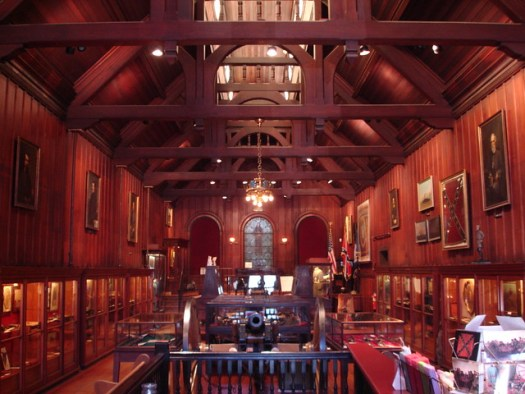 Inside Confederate Museum, New Orleans LA