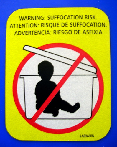 Please don't put your baby in a box