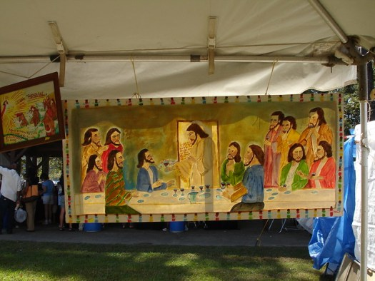 Myrtice West's Art, Kentuck Festival of the Arts, Northport AL