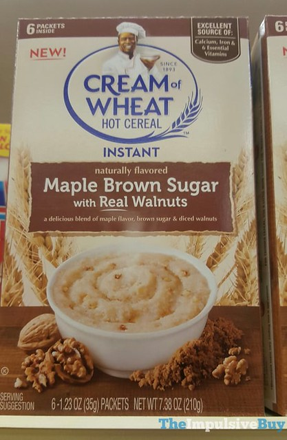 Cream of Wheat Maple Brown Sugar