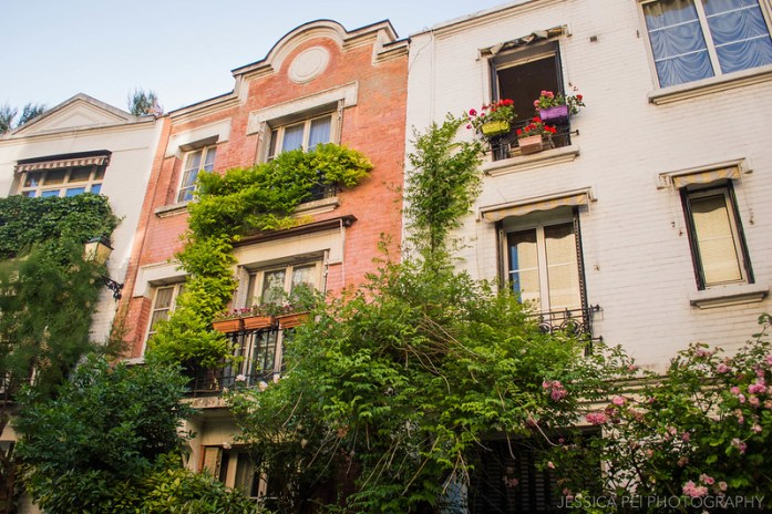 Montmartre Paris Houses