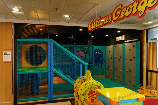 Stena Mersey - improved childrens play area