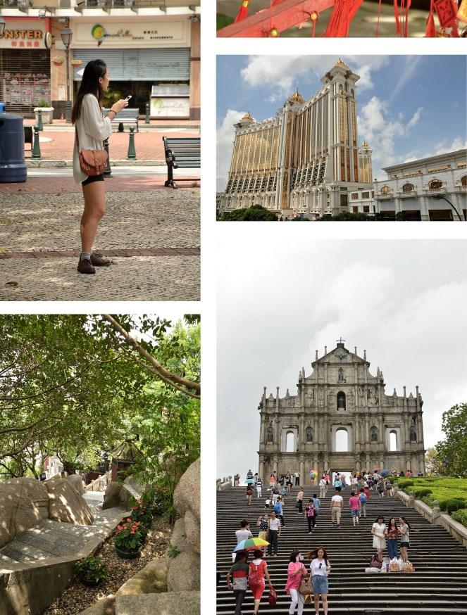 Galaxy Macau, Ruins of St Paul's, A-Ma temple, macau street