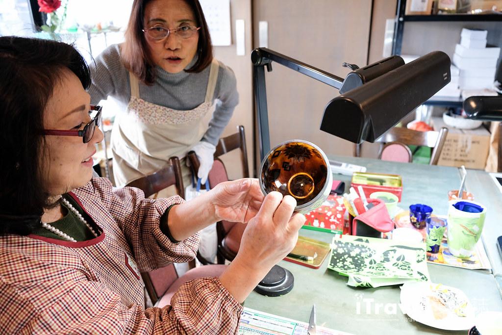 东京手作课程 喷砂玻璃工艺体验 63