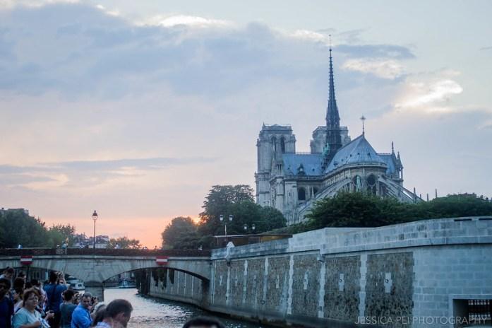 Seine River Notre Dame Paris
