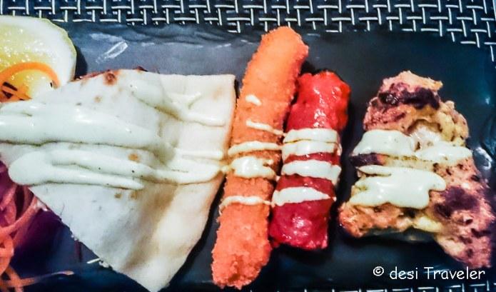 Non Veg kebabs punjab grill singapore