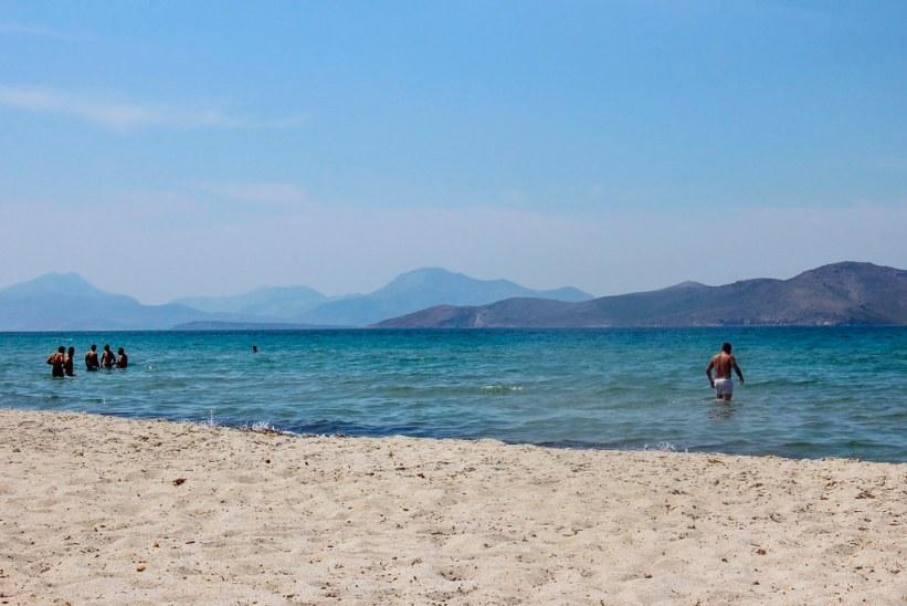Tigaki Beach, Kos' bedste strand