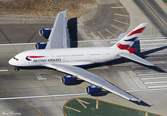 British Airways A380-800 G-XLEA