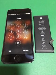 273_iPhone6のバッテリー交換