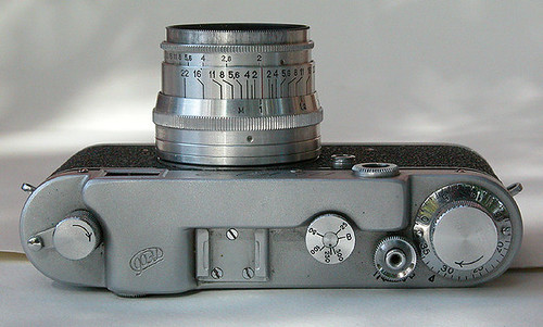 Fed 2 top view with Jupiter 8 50mm f2.0 lens by William J. Gibson, the Canuckshutterer