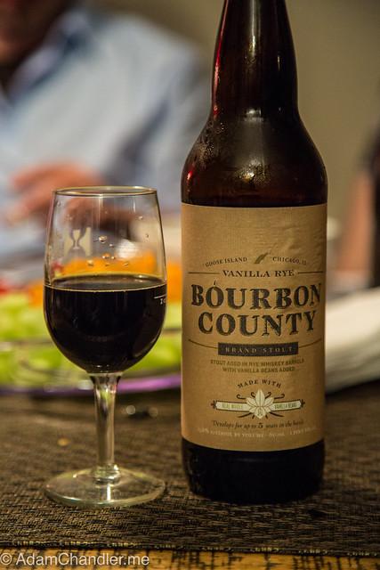 Goose Island Bourbon County - Vanilla Rye 2014