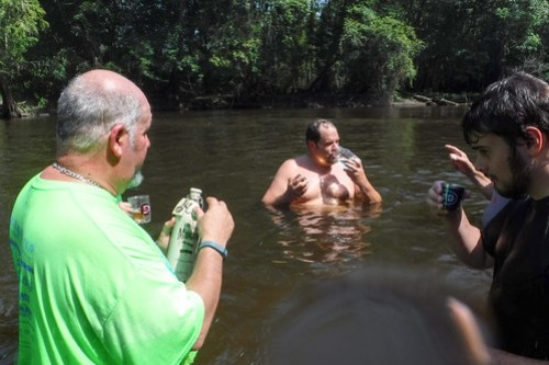 Edisto River Beer Commercial and Rope Swing Float-063