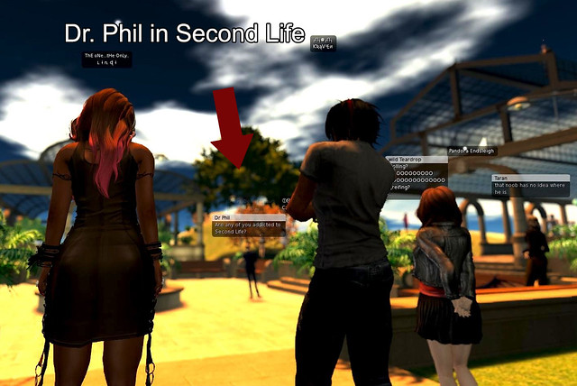 I Met Dr  Phil in Second Life! – StrawberrySingh com