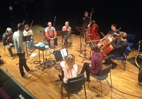 Recording in Wellington with some of NZSO\'s finest!