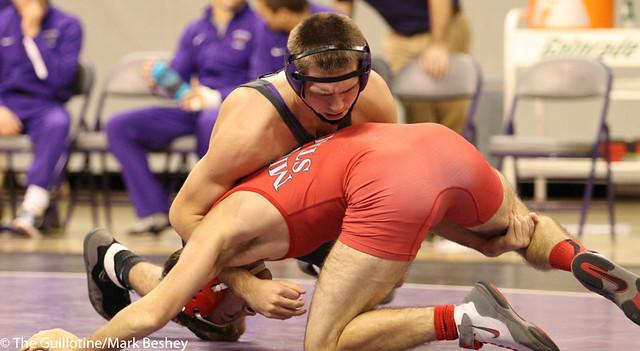133 Dakota Welsh (Minnesota State) fall Shane Williams (Minot State) 1:32