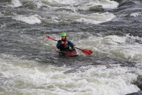 WhiteWater rafting near T. Tyler Potterfield Memorial Bridge, Richmond.