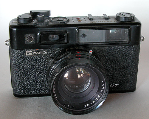 Yashica Electro 35 by William J. Gibson, the Canuckshutterer