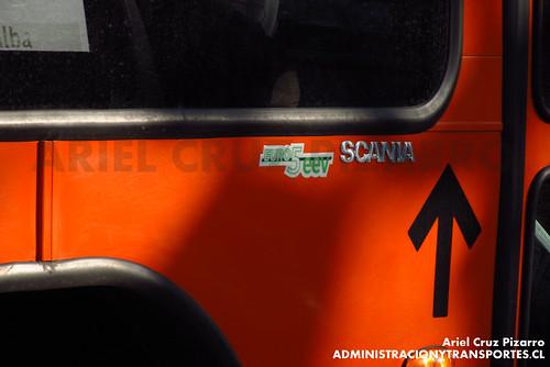 Transantiago - Express de Santiago Uno (U4) - Marcopolo Gran Viale / Scania (CJRS35)