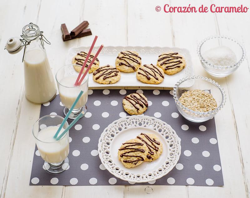 Galletas de Avena y Coco