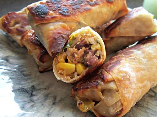 Chicken Southwest Eggrolls
