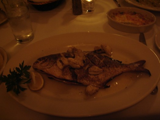 Pompano at Giardina's, Greenwood MS