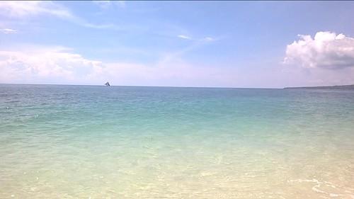 La playa de Puka Shell en Boracay