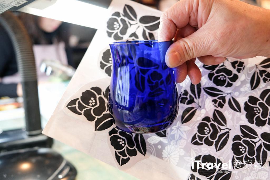 东京手作课程 喷砂玻璃工艺体验 21