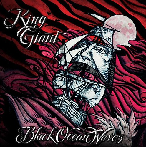 Black Ocean Waves by King Giant